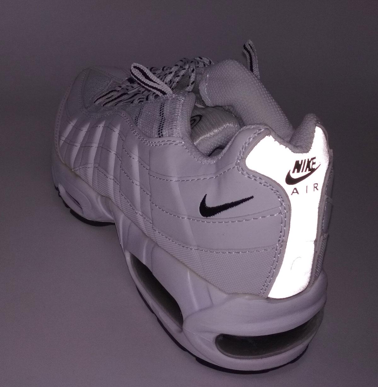 большое фото №5 Кроссовки Nike air max 95 белые. ТОП КАЧЕСТВО!!!