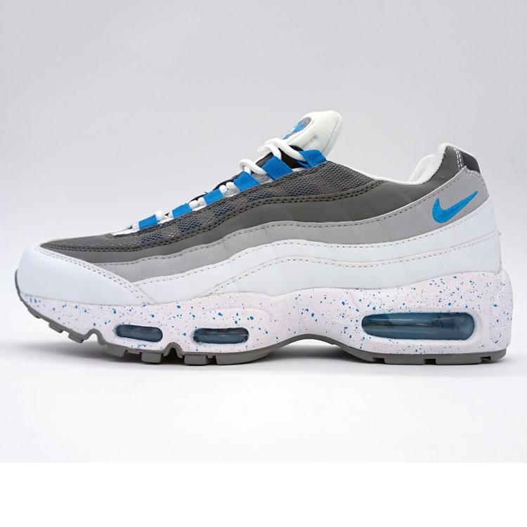 фото main Мужские кроссовки Nike air max 95 бело синие в крапинку. ТОП КАЧЕСТВО!!! main