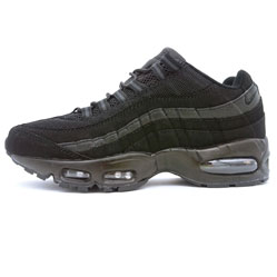 Мужские кроссовки Nike air max 95 черные. ТОП КАЧЕСТВО!!!