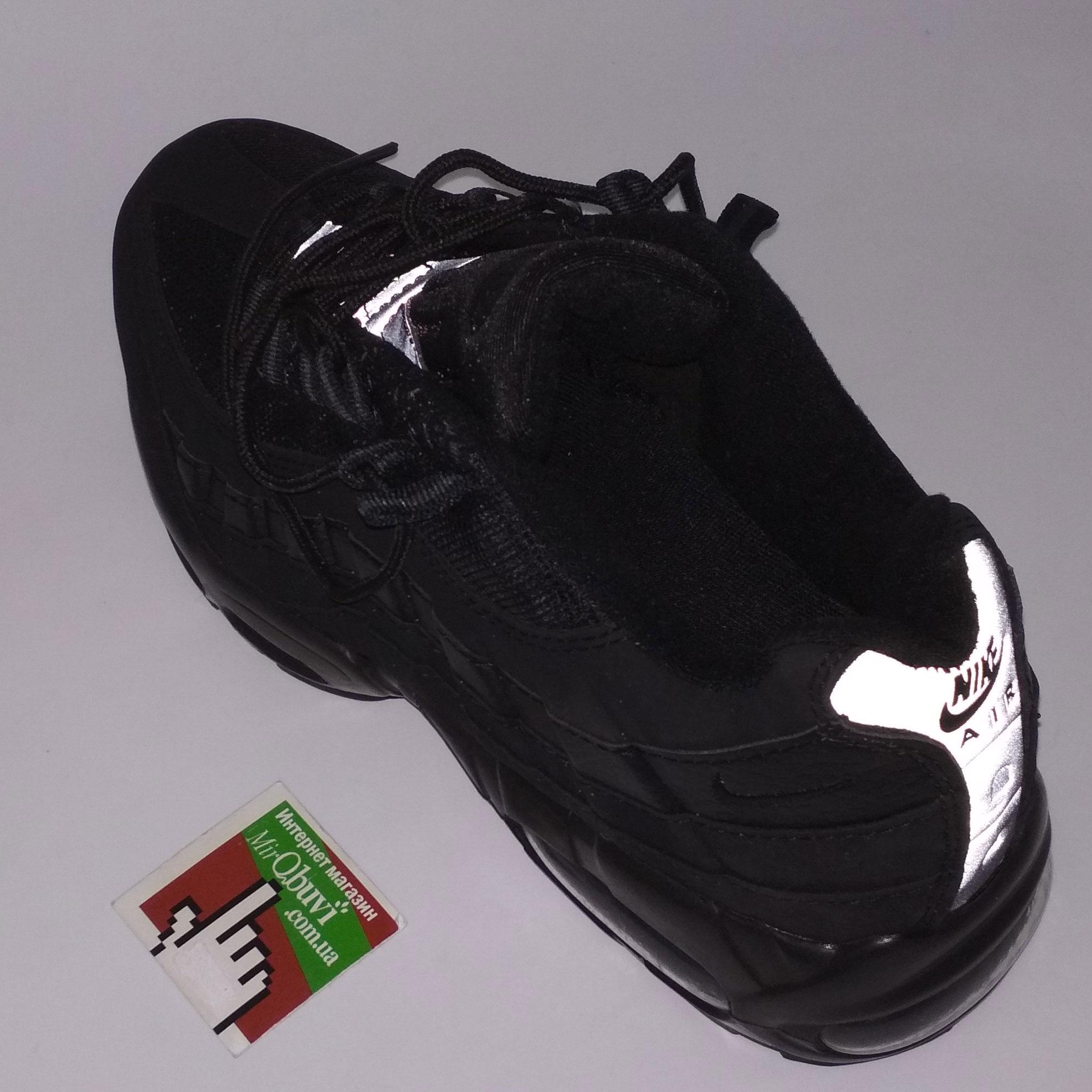 большое фото №6 Мужские кроссовки Nike air max 95 черные. ТОП КАЧЕСТВО!!!