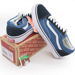 Мужские кеды Vans old skool синие