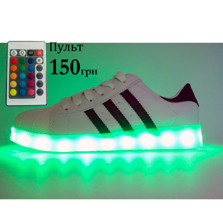 фото main Светящиеся кроссовки superstar LED main