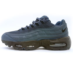 Nike air max 95 темно синие 2