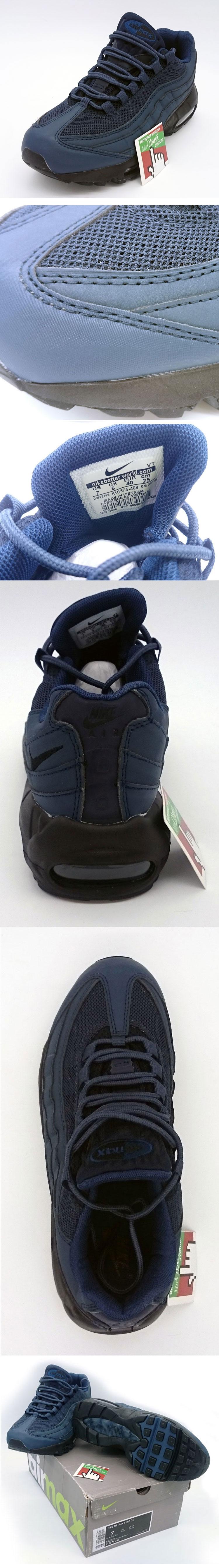 большое фото №5 Nike air max 95 темно синие 2
