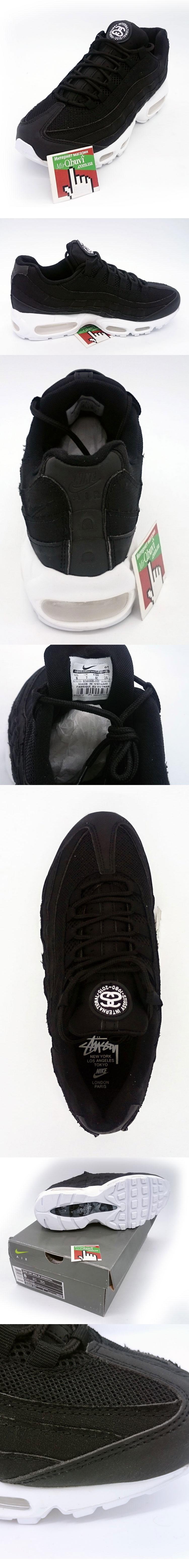 большое фото №5 Кроссовки Nike air max 95 черно белые. ТОП КАЧЕСТВО!!!