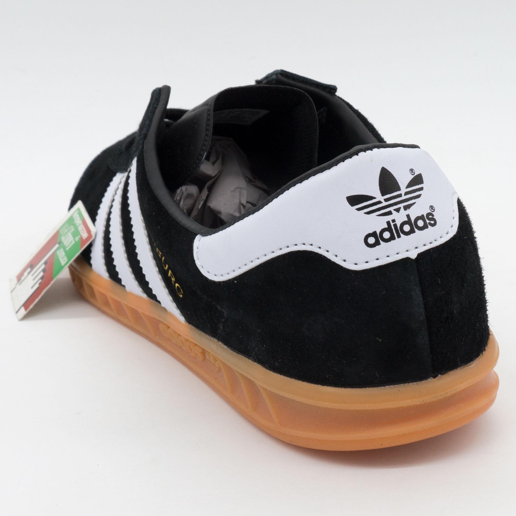 фото bottom Кроссовки Adidas Hamburg черные - Натуральная замша - Топ качество! bottom