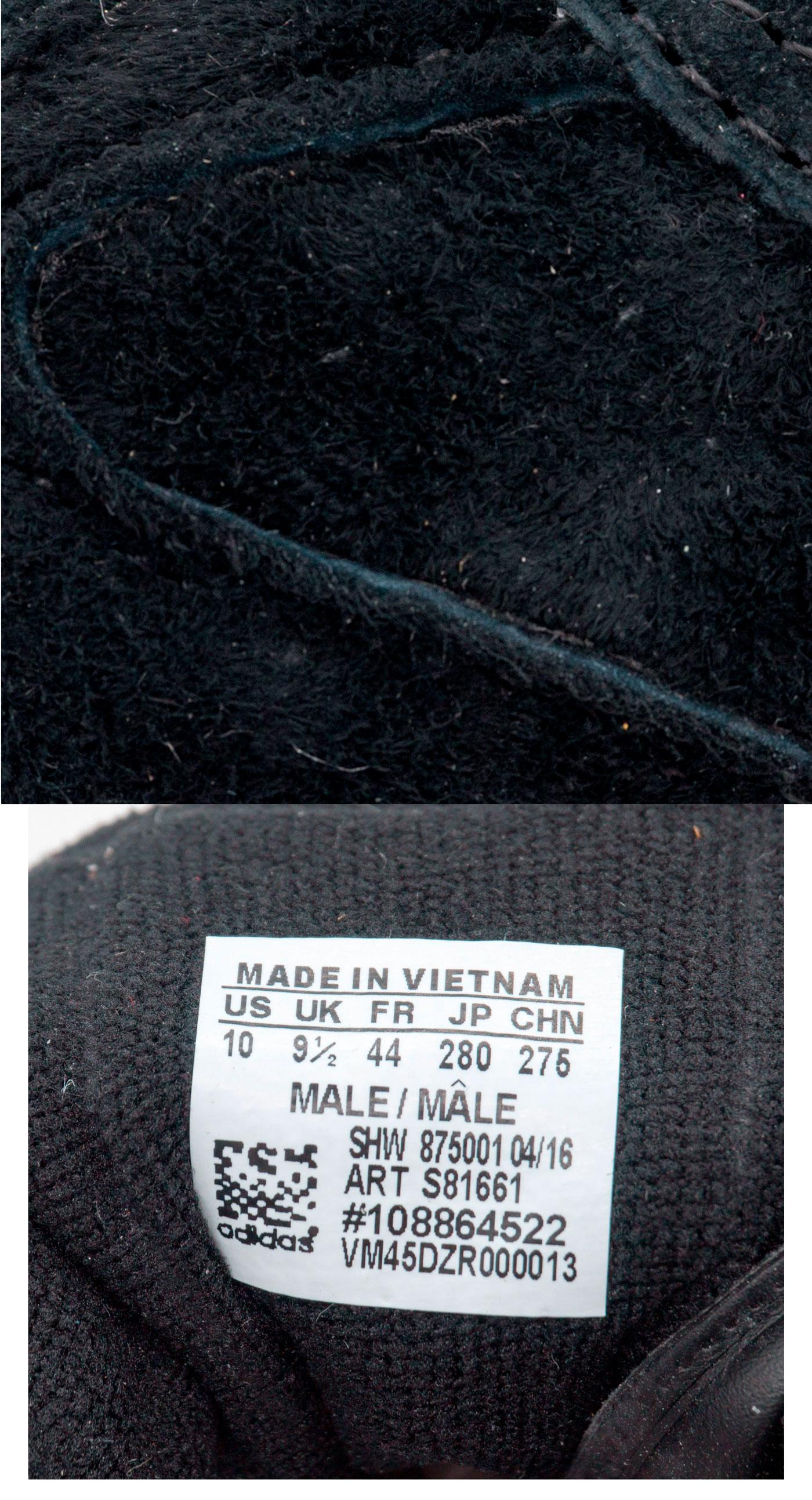 большое фото №5 Кроссовки Adidas Hamburg черные - Натуральная замша - Топ качество!