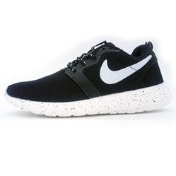 Nike Roshe Run 2 черные в крапенку