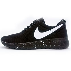 Nike Roshe Run черная подошва в крапинку