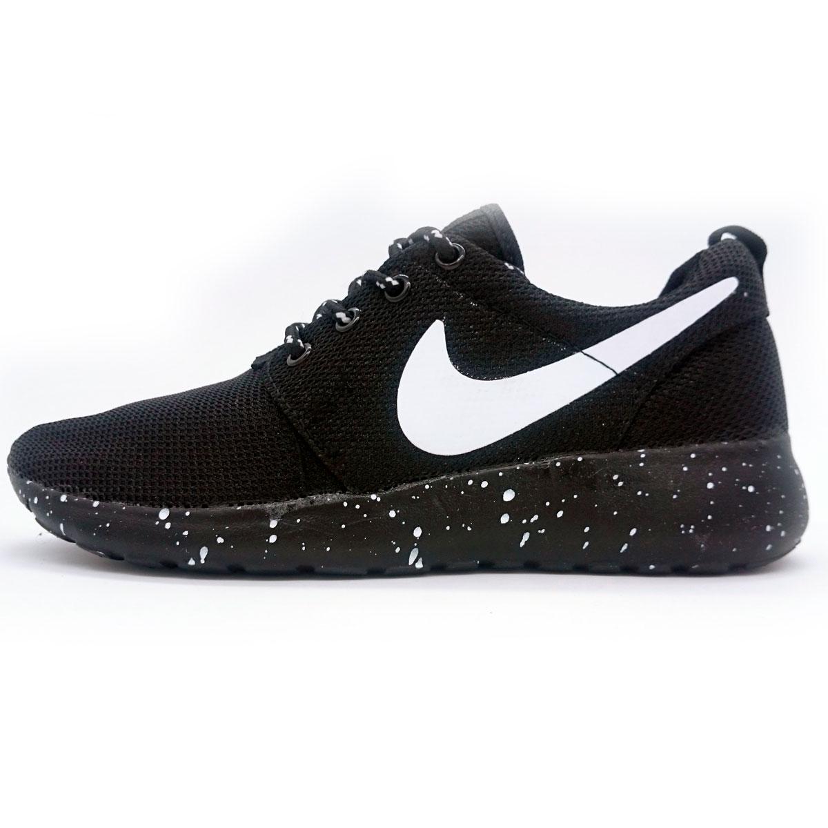фото main Nike Roshe Run черная подошва в крапинку main