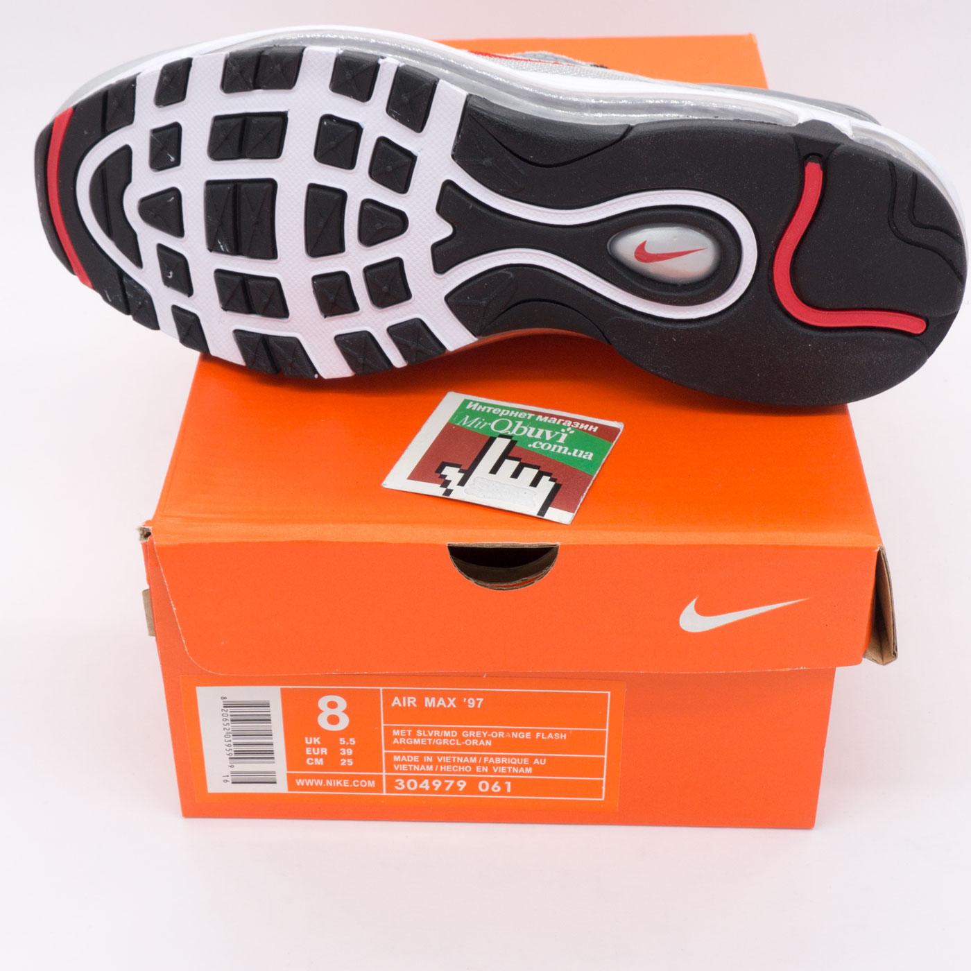 фото bottom Кроссовки Nike air max 97 серебристые. Топ качество! bottom