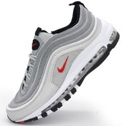 Кроссовки Nike air max 97 серебристые. Топ качество!
