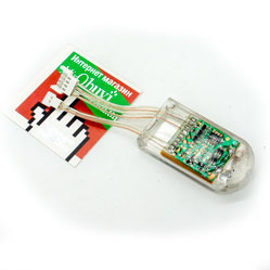 Контроллер №1 (аккумулятор+плата управления) для светящихся кроссовок