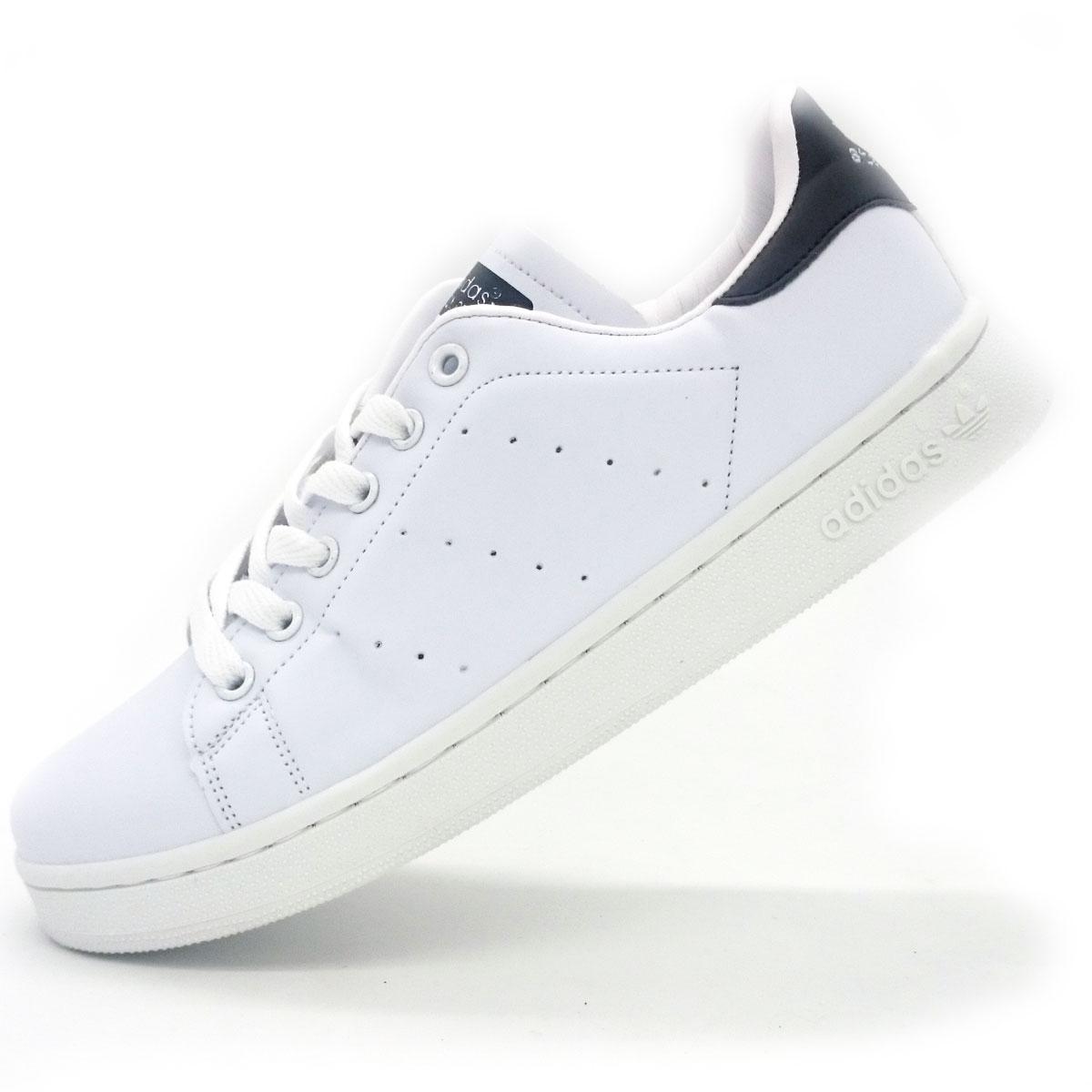 фото main Женские кроссовки Adidas Stan Smith бело черные main