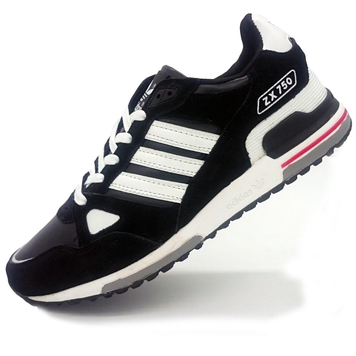 фото main Adidas ZX 750 черные (натуральная замша) main