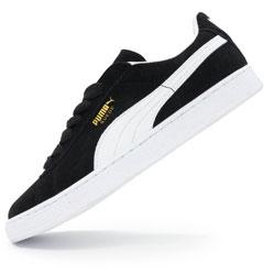 Мужские кроссовки Puma Suede черные Indonesia
