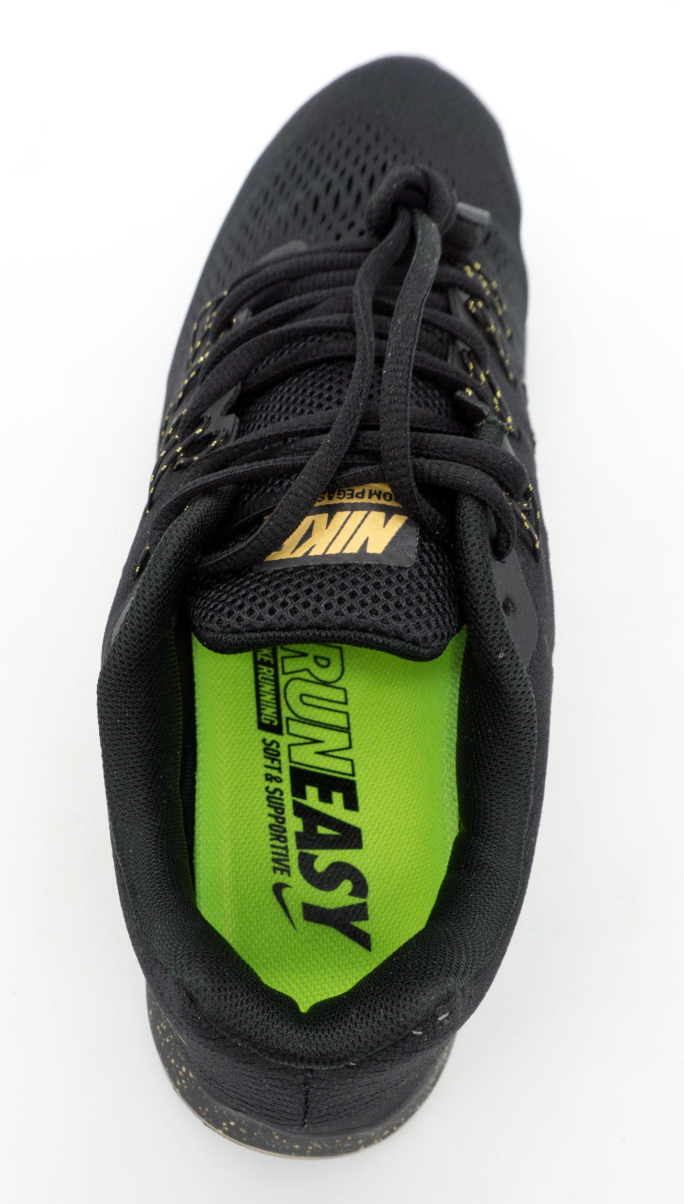большое фото №6 Мужские кроссовки для бега Nike Zoom Pegasus 33 черные-золото. Топ качество!