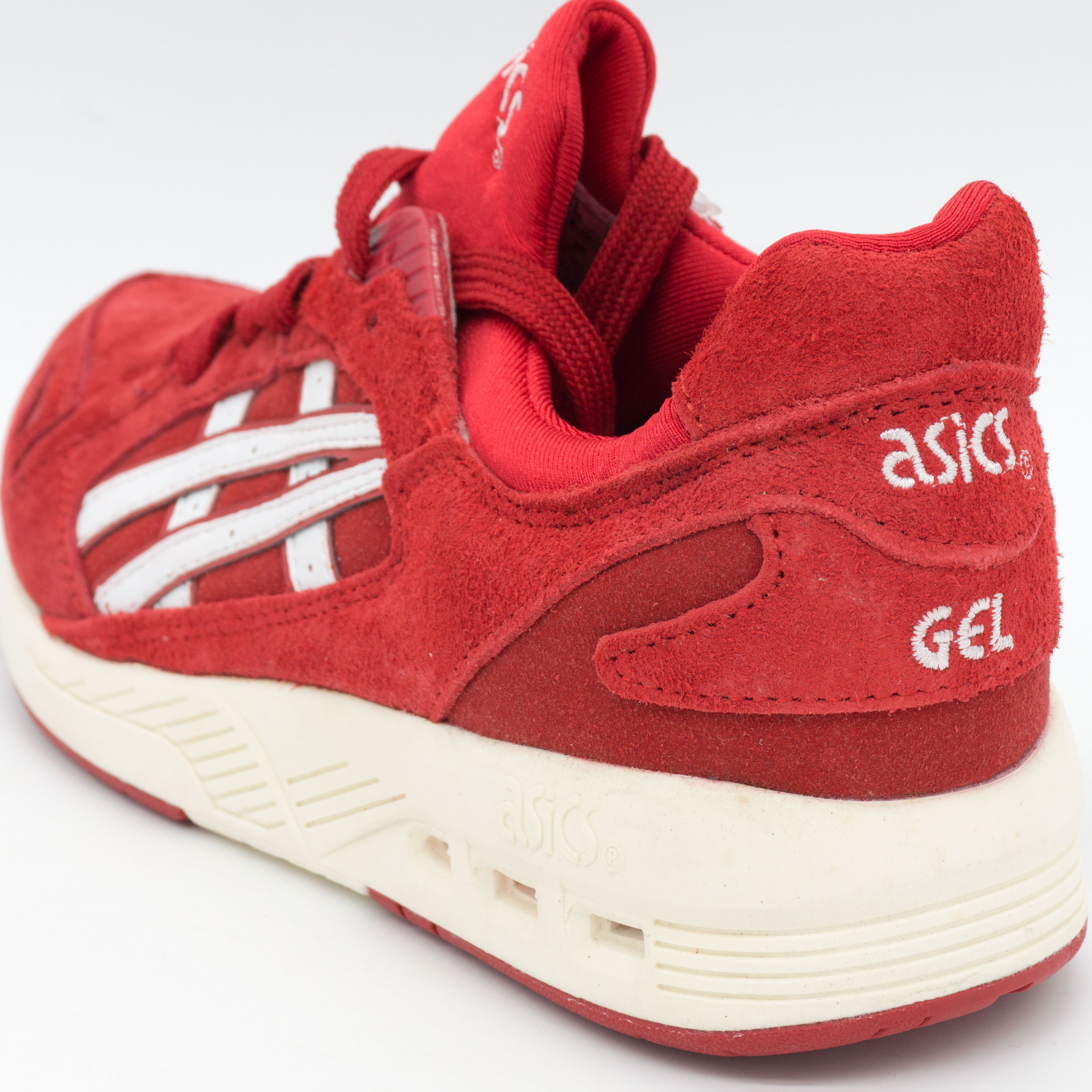 фото back Женские кожаные кроссовки Asics GT-Coolxpress красные. Топ качество! back