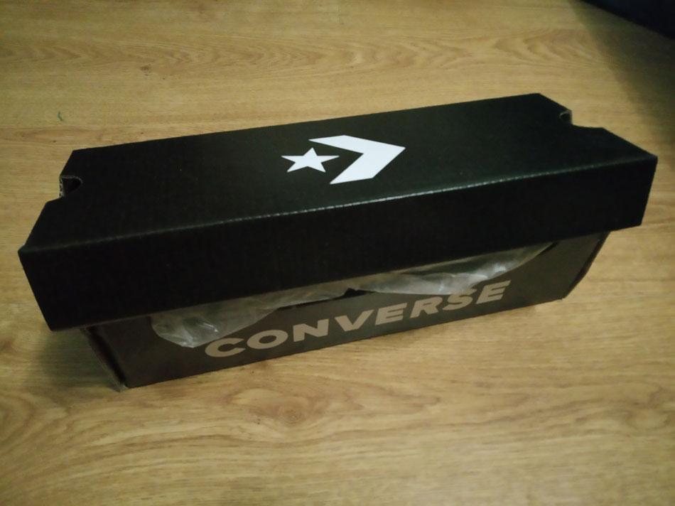 большое фото №6 Кеды Converse низкие черно-белые