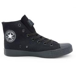Кеды Converse высокие полностью черные