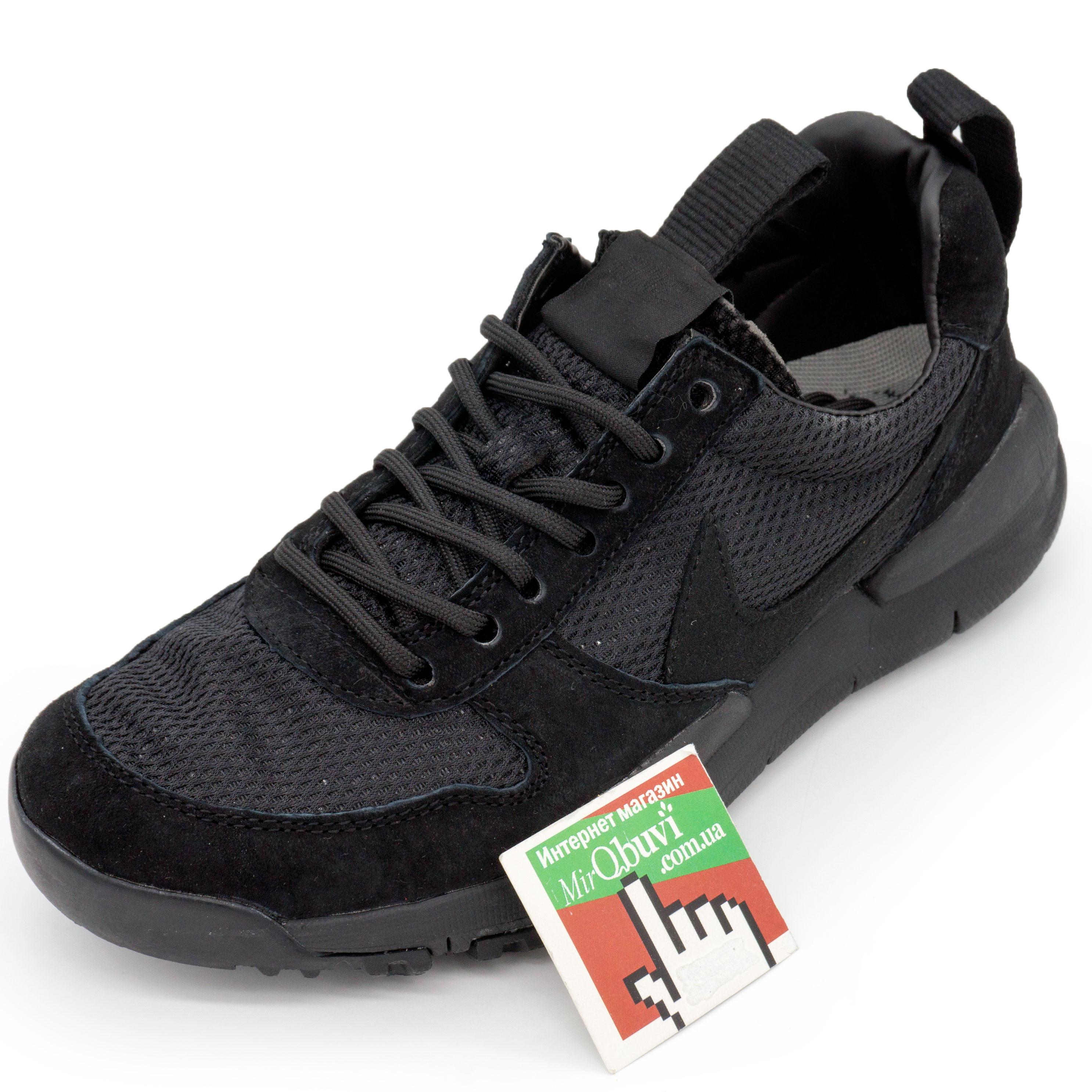 фото front Мужские кроссовки Nike Mars Yard 2.0 черные. Топ качество! front