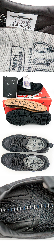 большое фото №5 Мужские кроссовки Nike Mars Yard 2.0 черные. Топ качество!