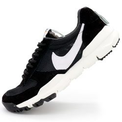 Мужские кроссовки Nike Mars Yard 2.0 черно-белые. Топ качество!