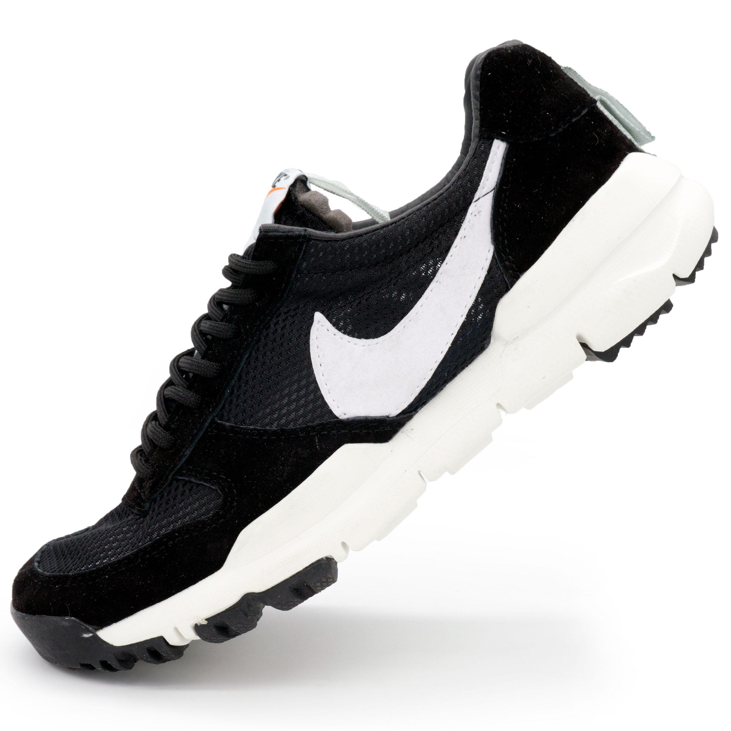 фото main Мужские кроссовки Nike Mars Yard 2.0 черно-белые. Топ качество! main