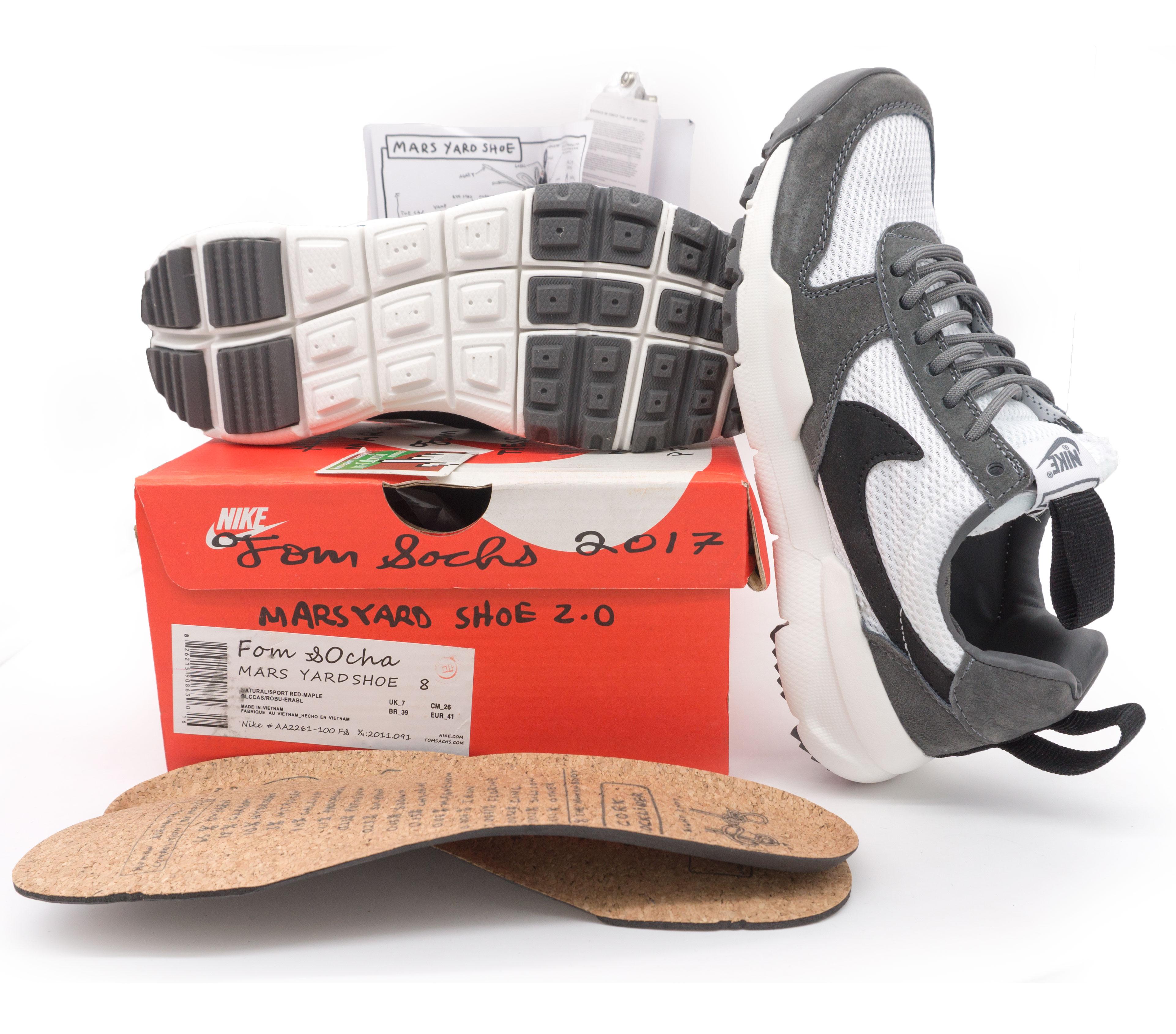 фото bottom Мужские кроссовки Nike Mars Yard 2.0 серые. Топ качество! bottom