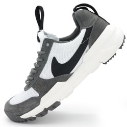 Мужские кроссовки Nike Mars Yard 2.0 серые. Топ качество!
