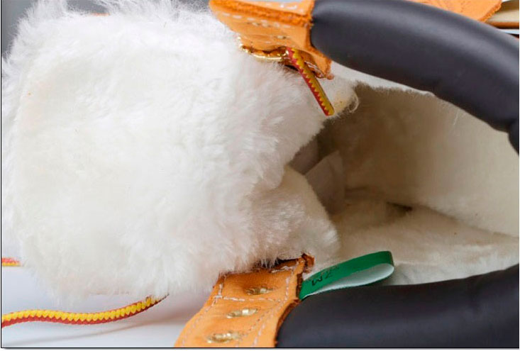 фото bottom Зимние ботинки Тимберленд 10061 c мехом - Реплика Топ качество! bottom