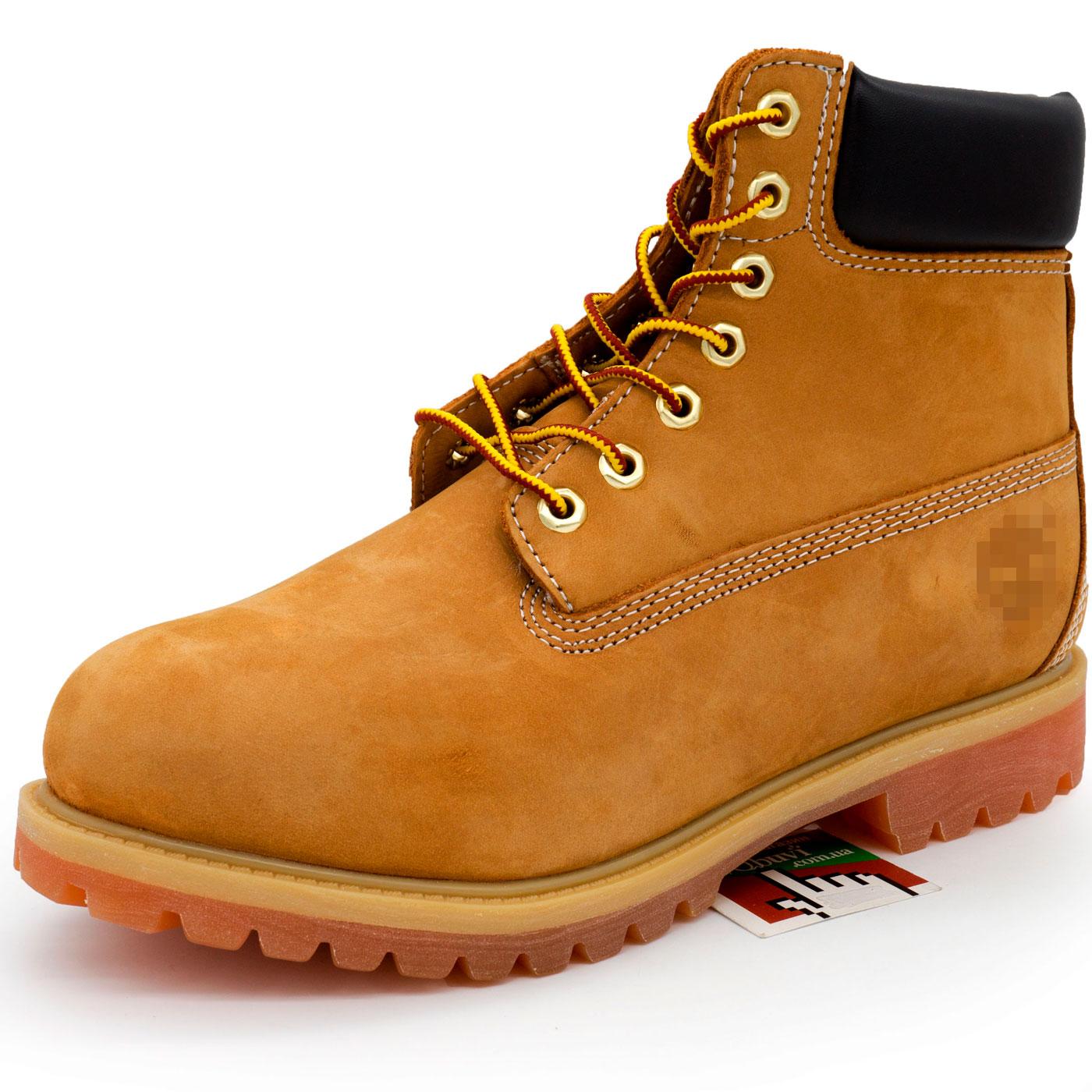 фото front Зимние ботинки Тимберленд 10061 c мехом - Реплика Топ качество! front