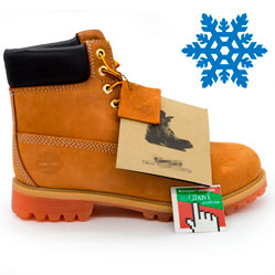 Зимние ботинки Тимберленд 10061 c мехом - Реплика Топ качество!