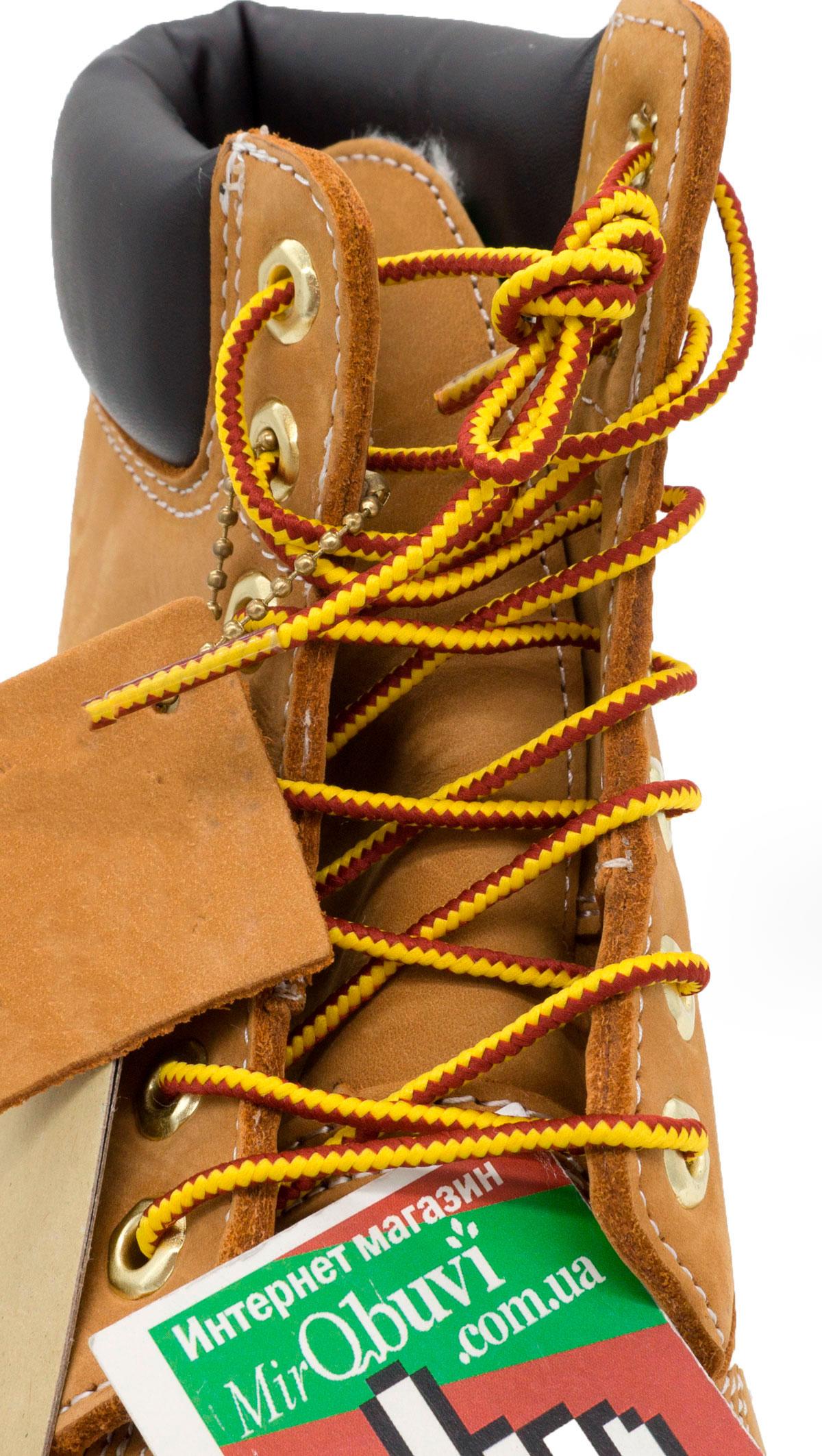 большое фото №5 Зимние ботинки Тимберленд 10061 c мехом - Реплика Топ качество!