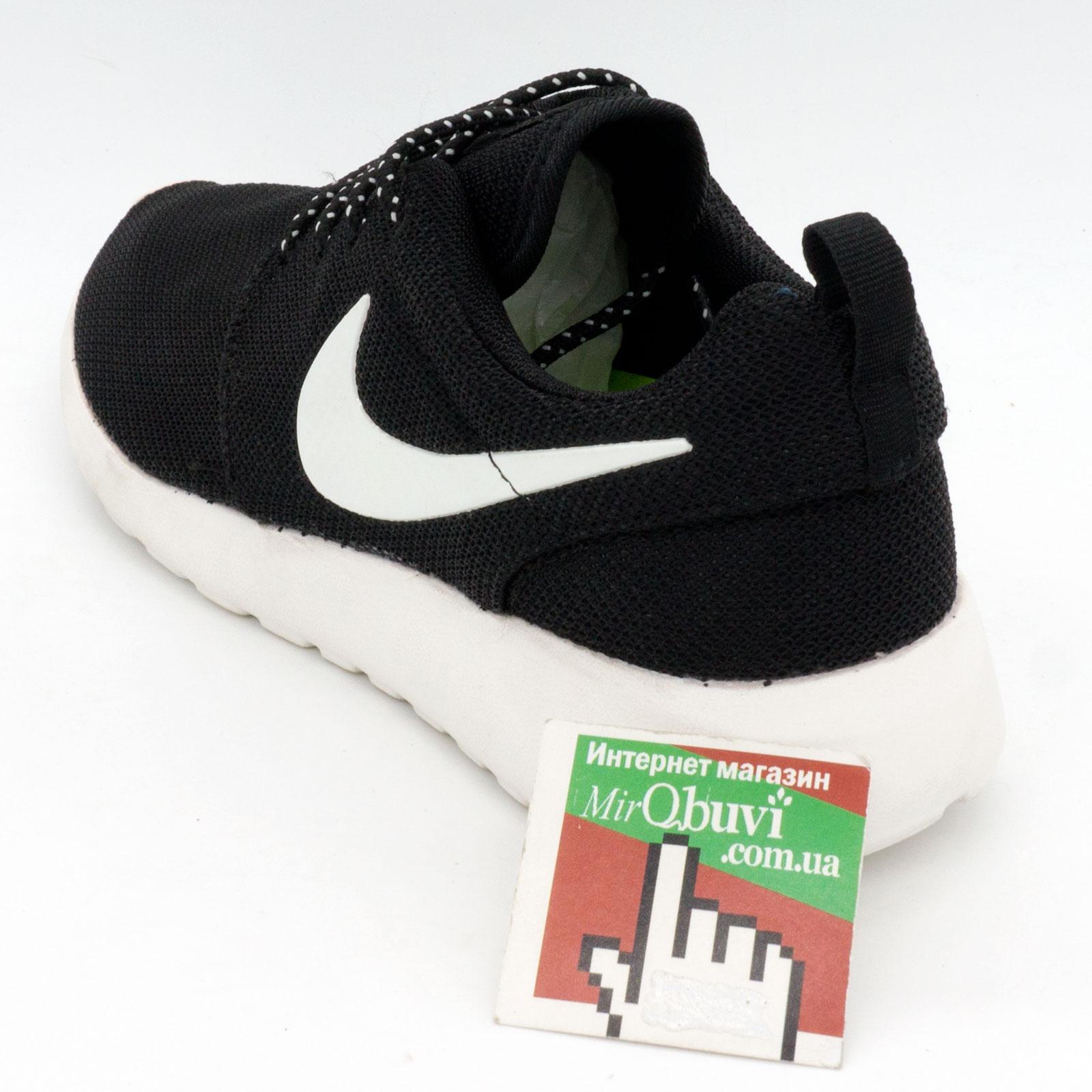 фото back Nike Roshe Run Vietnam черно белые back