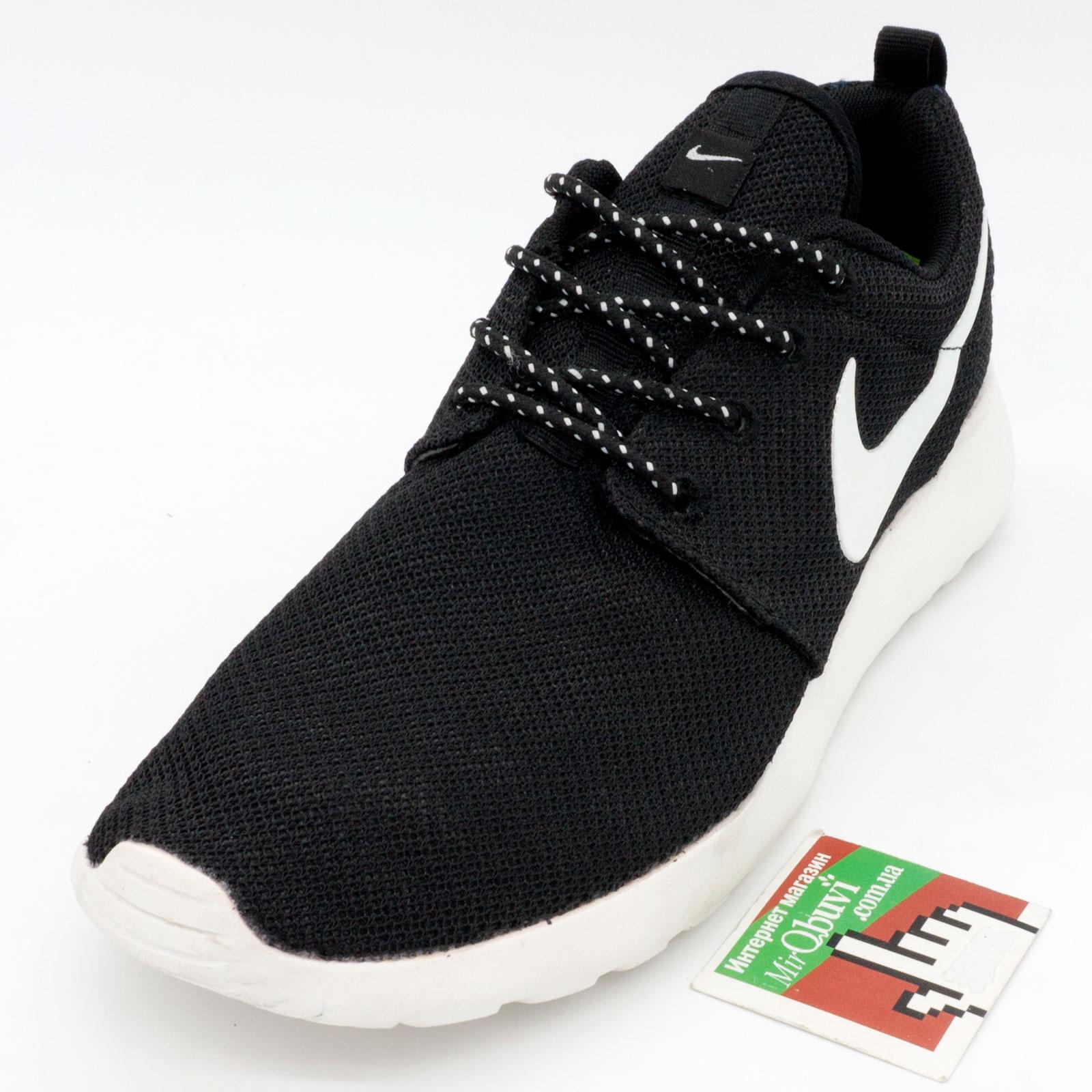 фото front Nike Roshe Run Vietnam черно белые front