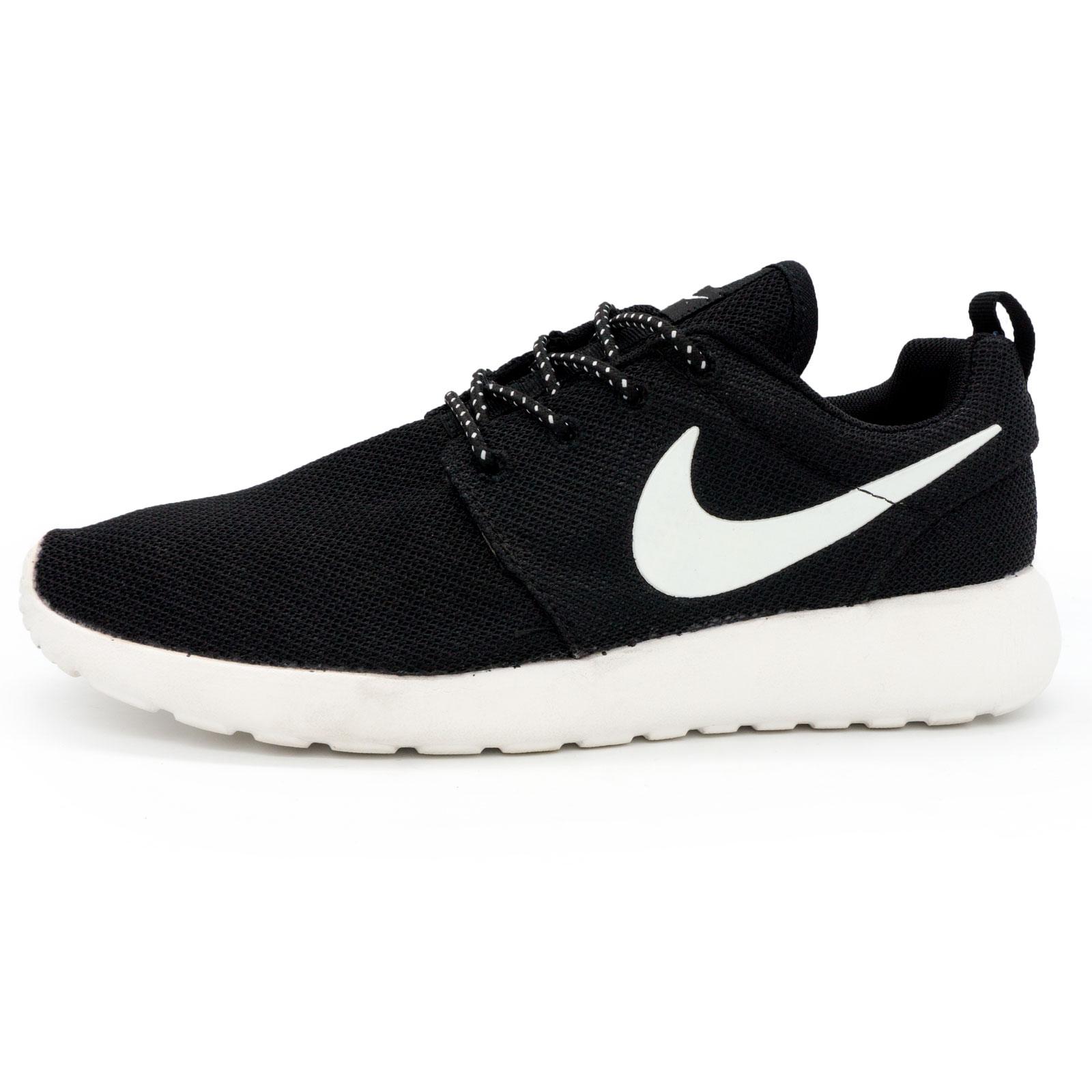 fab139f1 Кроссовки Nike Roshe Run черно белые, купить Найк Роше Ран в ...