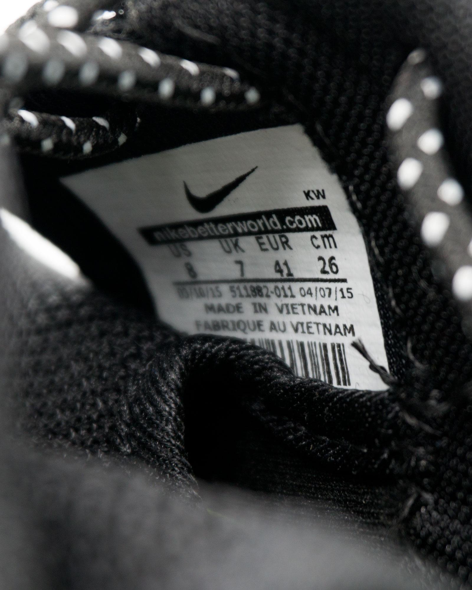 большое фото №6 Nike Roshe Run Vietnam черно белые