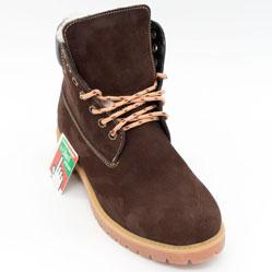 фото bottom Коричневые ботинки Реплика - Timberland 102 (сделано в Украине) bottom