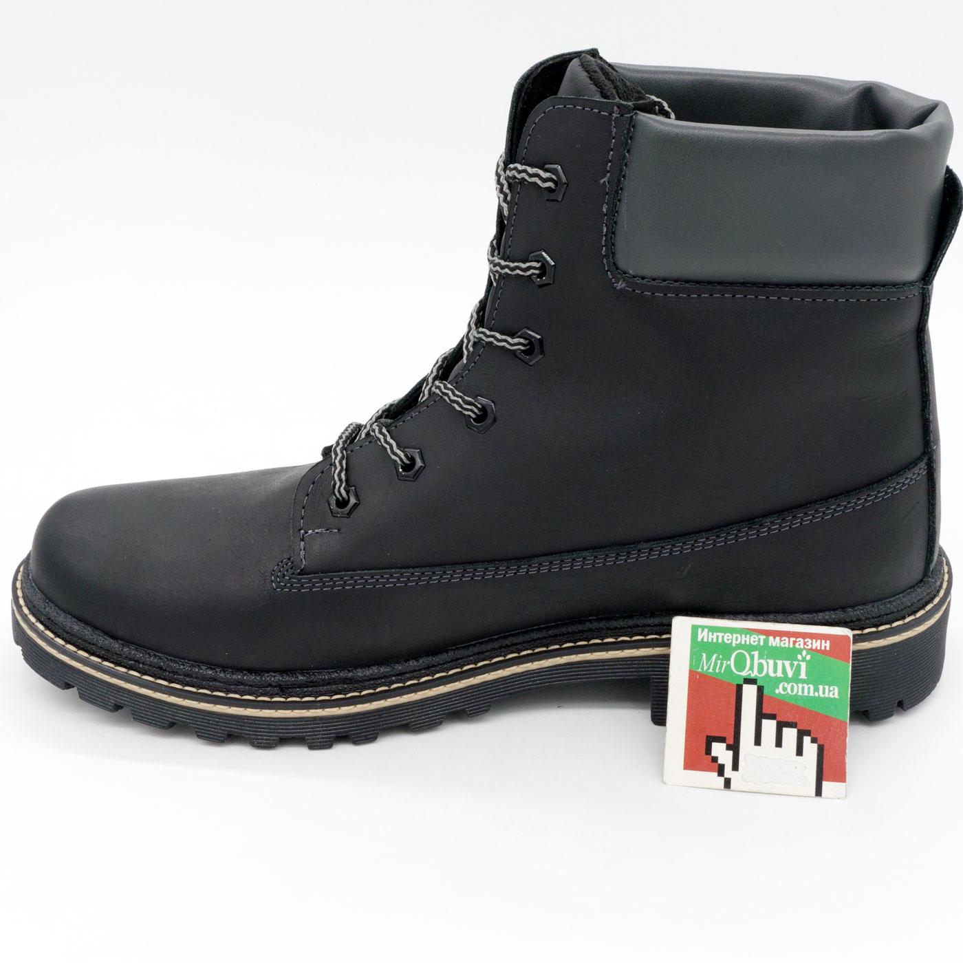 фото back Черные мужские ботинки Реплика Timberland 103 (Тимберленд)  back