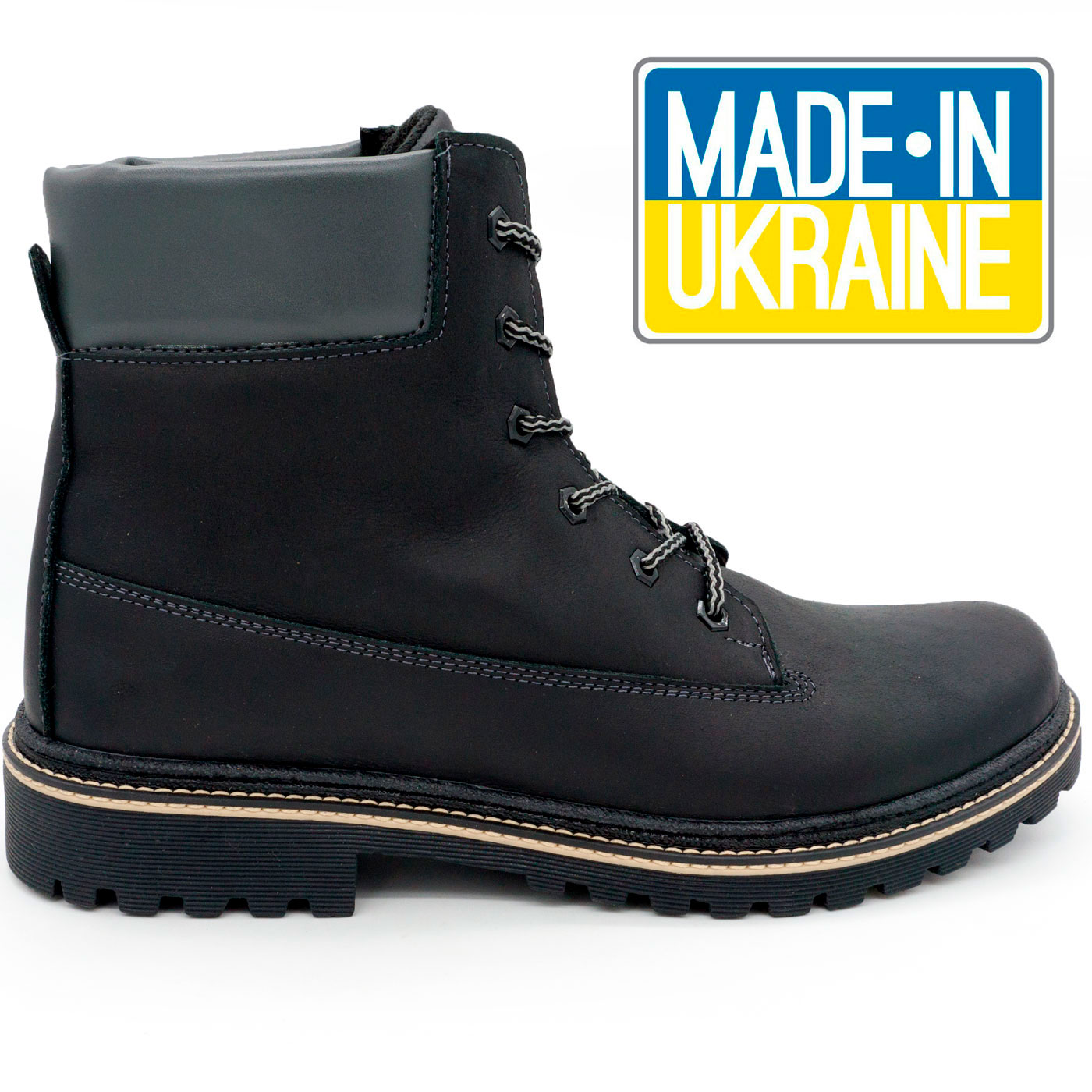фото main Черные мужские ботинки Реплика Timberland 103 (Тимберленд)  main