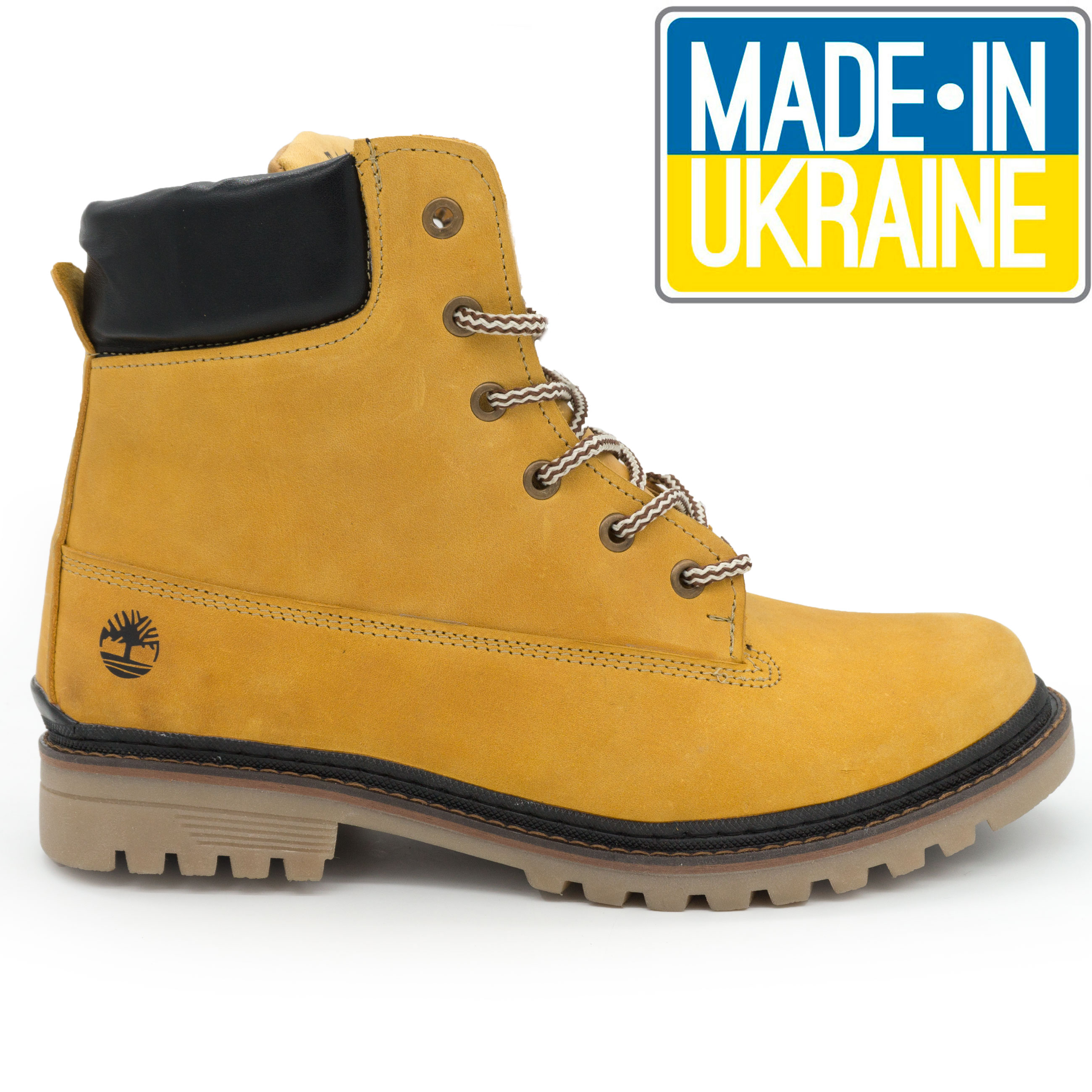фото main Желтые мужские ботинки Реплика Timberland 103 (Тимберленд)  main