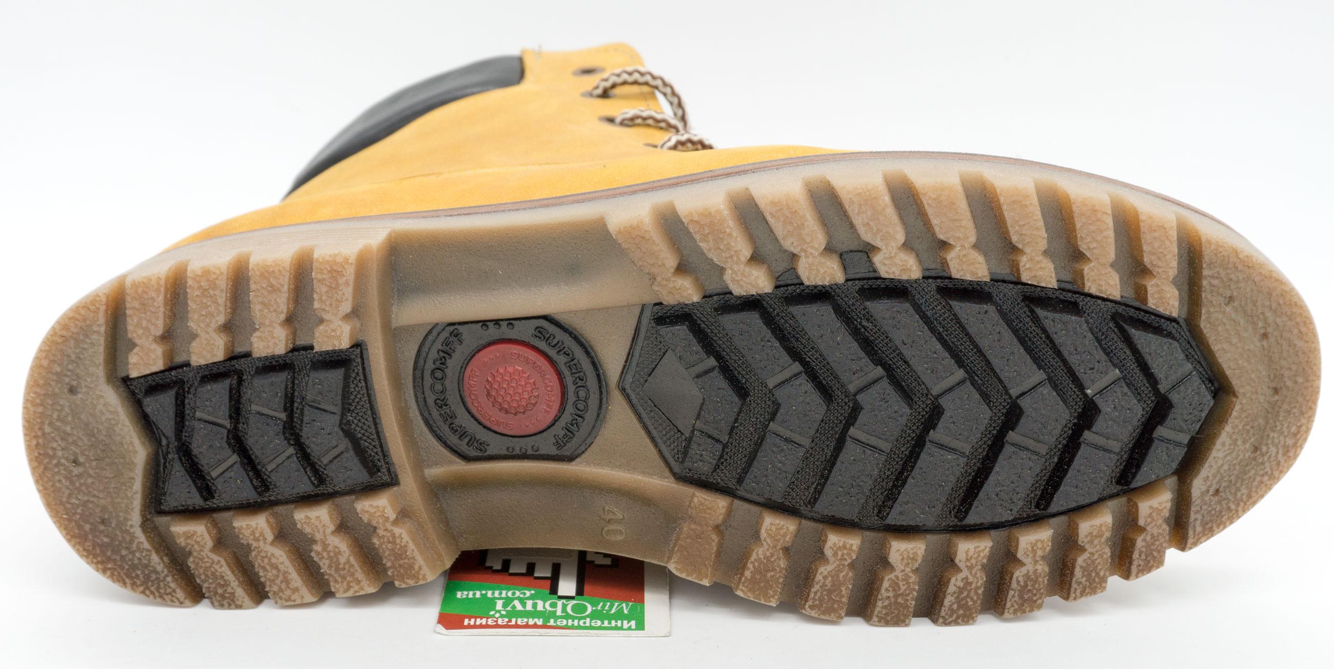 большое фото №5 Желтые мужские ботинки Реплика Timberland 103 (Тимберленд)