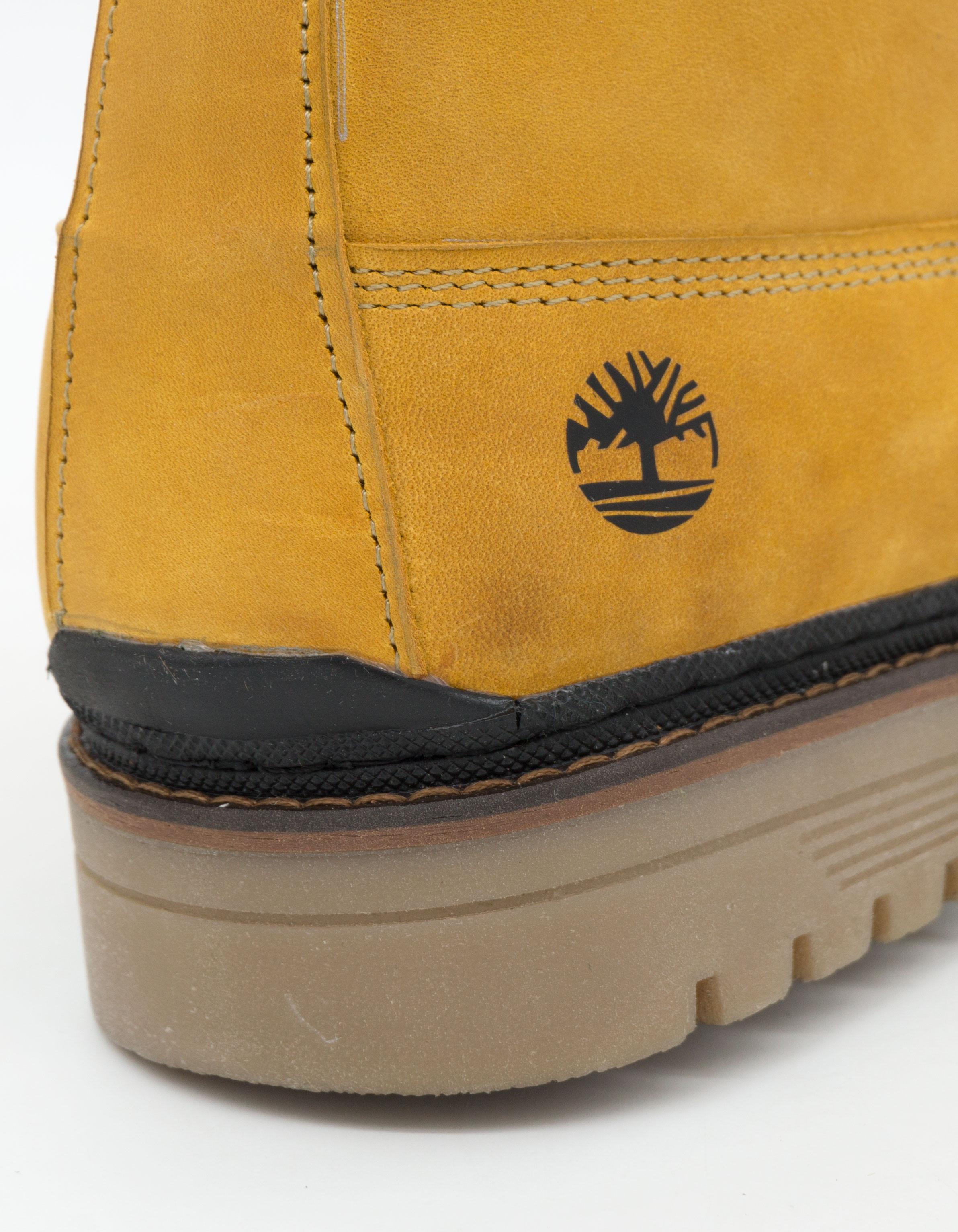 большое фото №6 Желтые мужские ботинки Реплика Timberland 103 (Тимберленд)