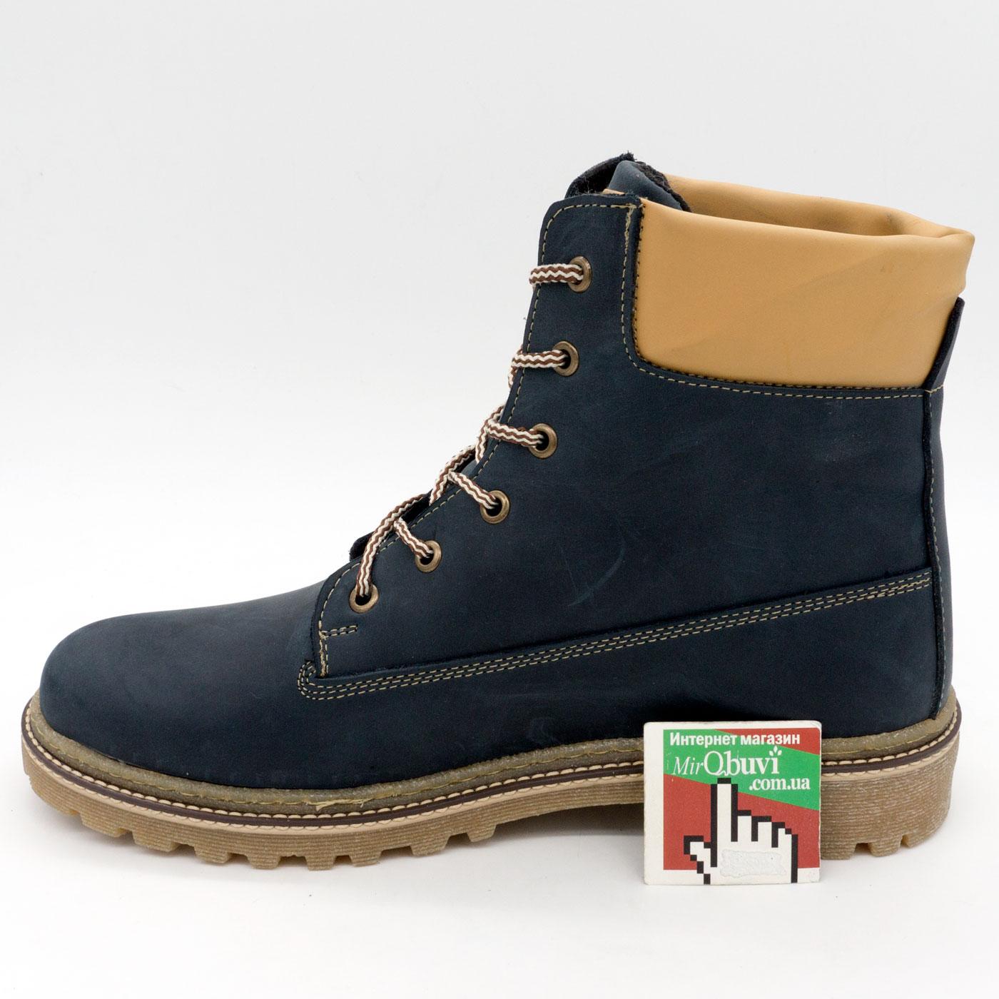 фото back Синие мужские ботинки Tim-and 103 back
