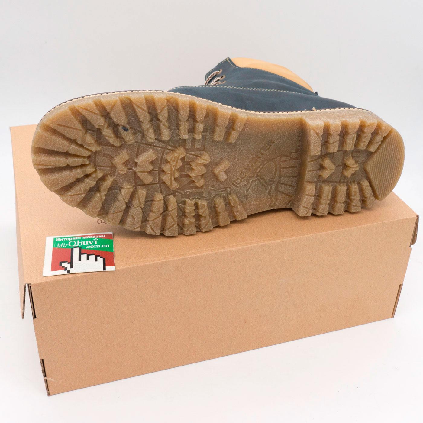 фото bottom Синие мужские ботинки Tim-and 103 bottom