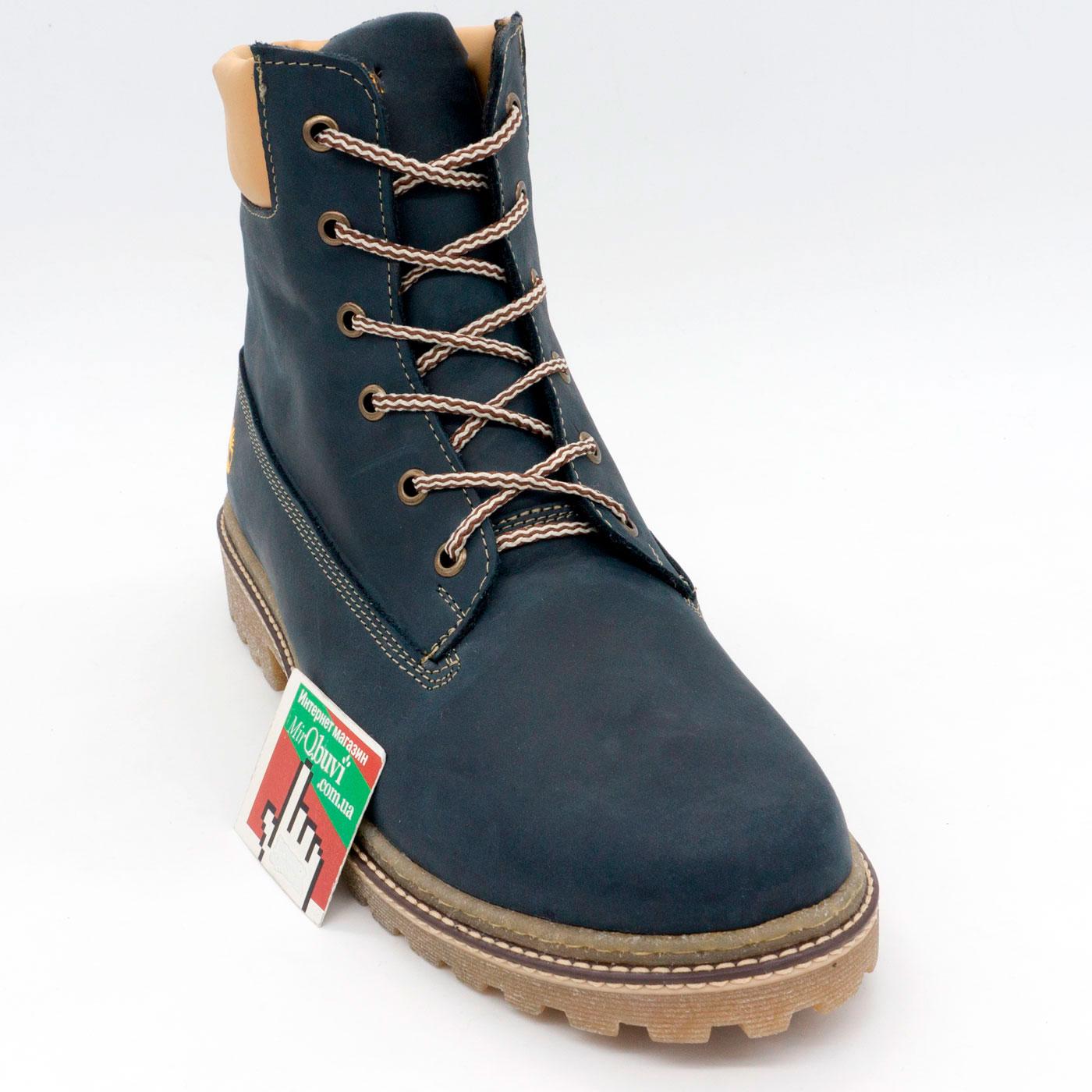 фото front Синие мужские ботинки Tim-and 103 front