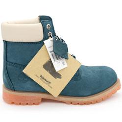 Ботинки Тимберленд синие 26578 - Реплика Топ качества!