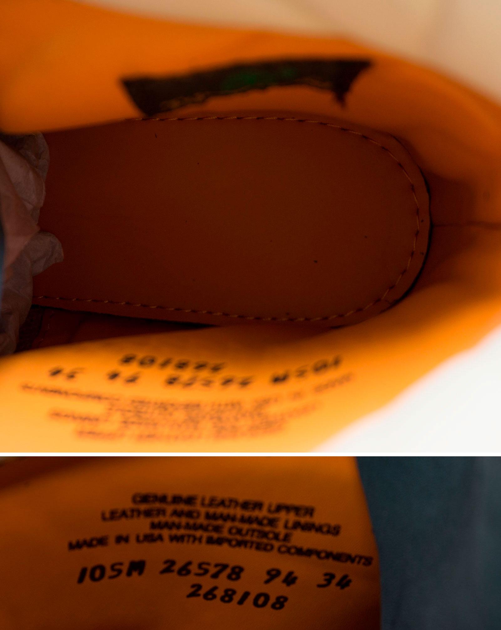 большое фото №5 Ботинки Тимберленд синие 26578 - Реплика Топ качества!