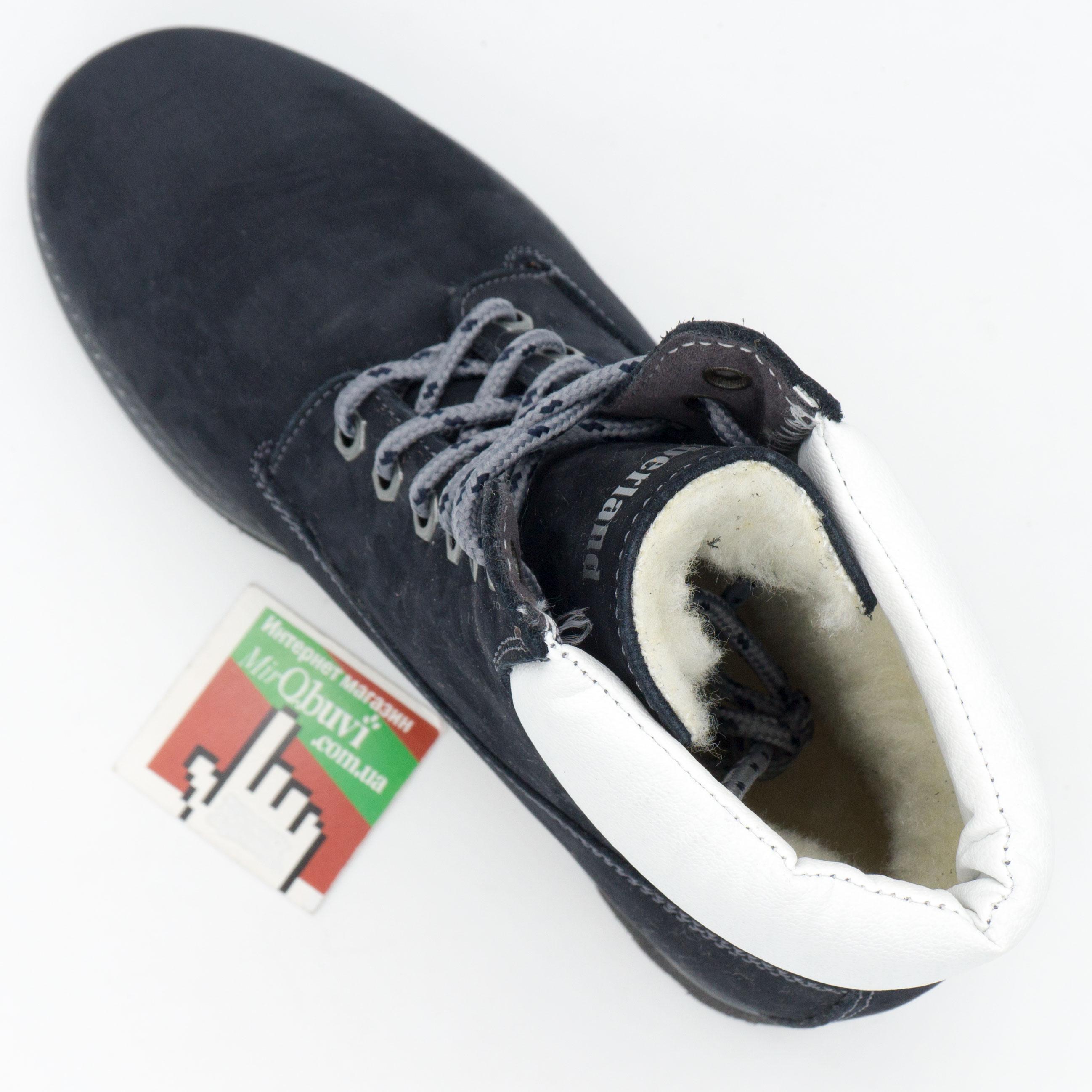 фото back Синие ботинки Tim-and 102 (сделано в Украине) back